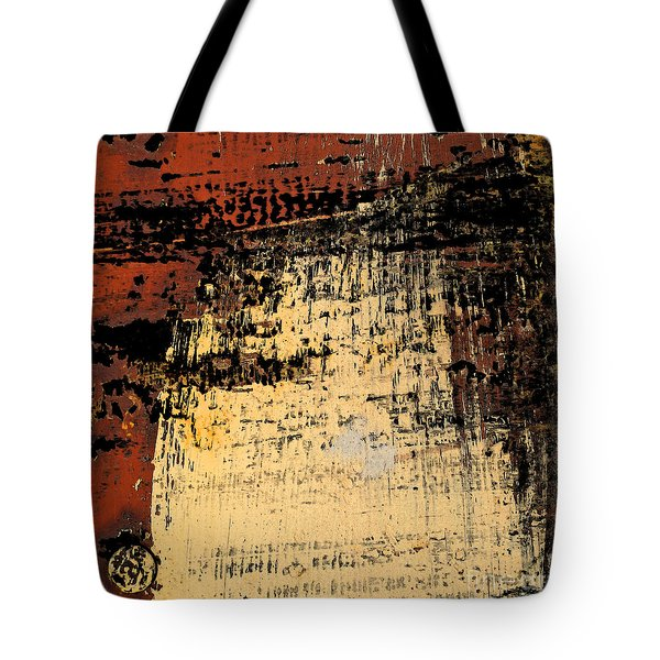 Rub Abstract Tote Bag by Gary Everson