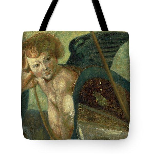 Ruben's Angel Tote Bag by Shelley Irish