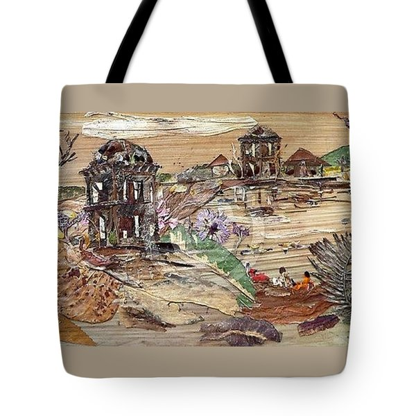 Ruined Structures  Tote Bag by Basant Soni