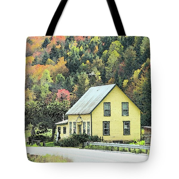 Rural New England Tote Bag by Betty LaRue