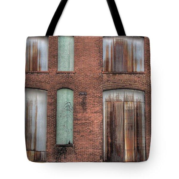 Rust Never Sleeps Tote Bag by Jane Linders