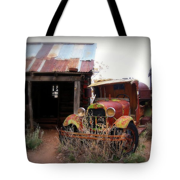 Rusted classic Tote Bag by Perry Webster