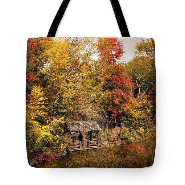 Rustic Splendor Tote Bag by Jessica Jenney