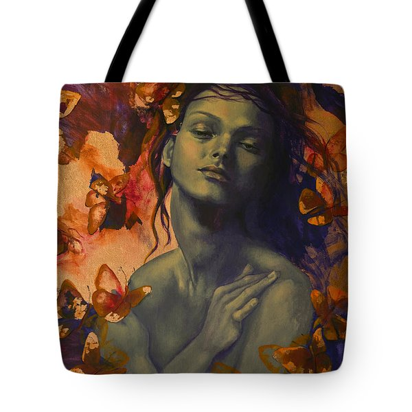 Rustle Tote Bag by Dorina  Costras