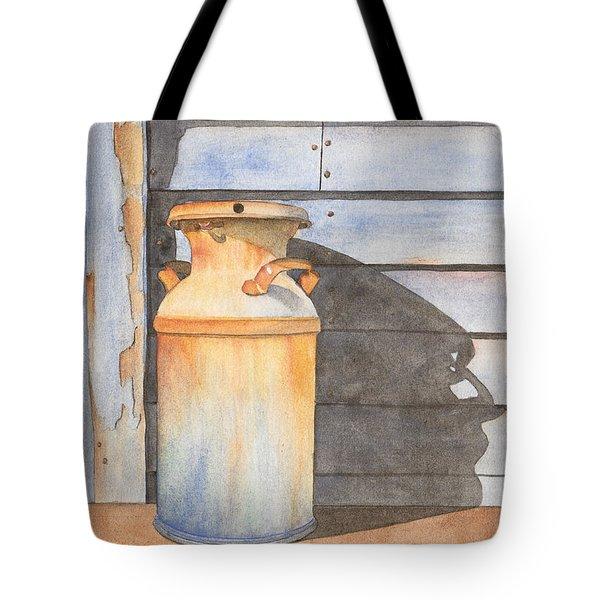 Rusty Milk Tote Bag by Ken Powers