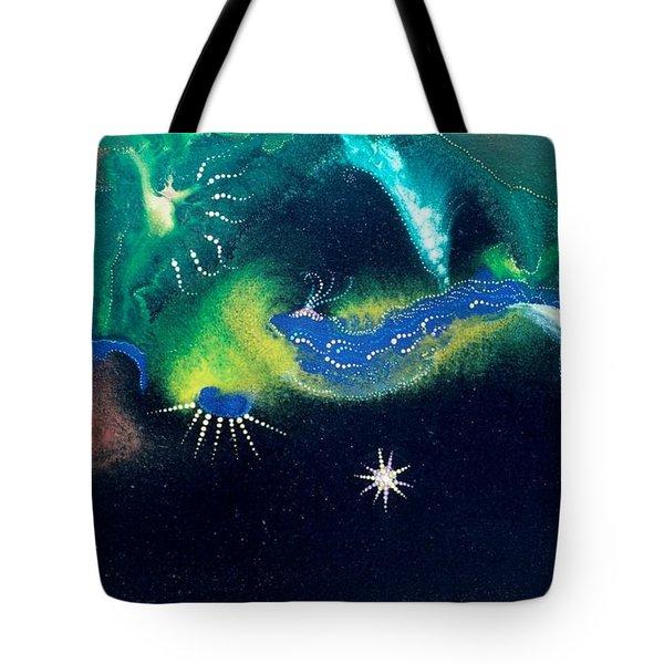 Sacred Dawn Tote Bag by Lee Pantas