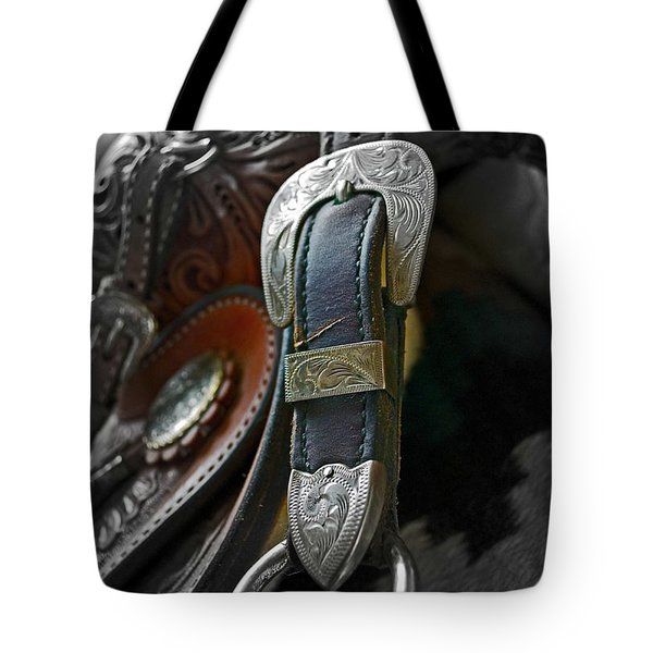 Saddle Your Dreams Tote Bag by Gwyn Newcombe