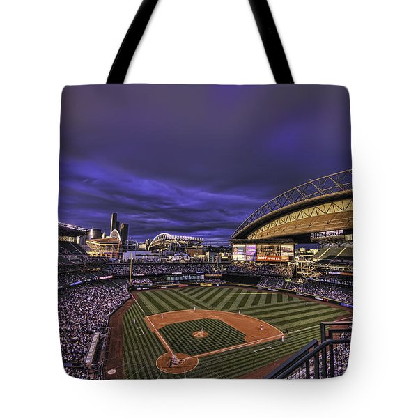 Safeco Field Tote Bag by Dan McManus