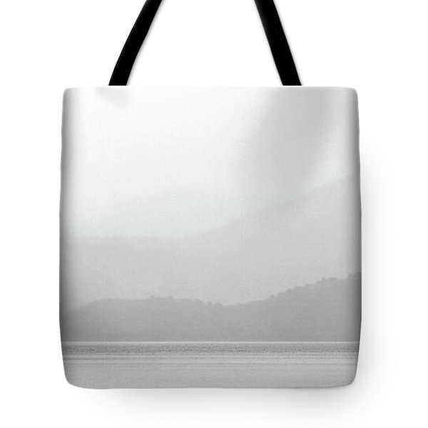 Sailboat On New Zealands Cook Strait Tote Bag by Mark Duffy