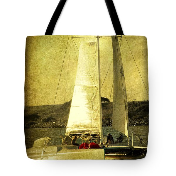 Sailing Away Tote Bag by Susanne Van Hulst