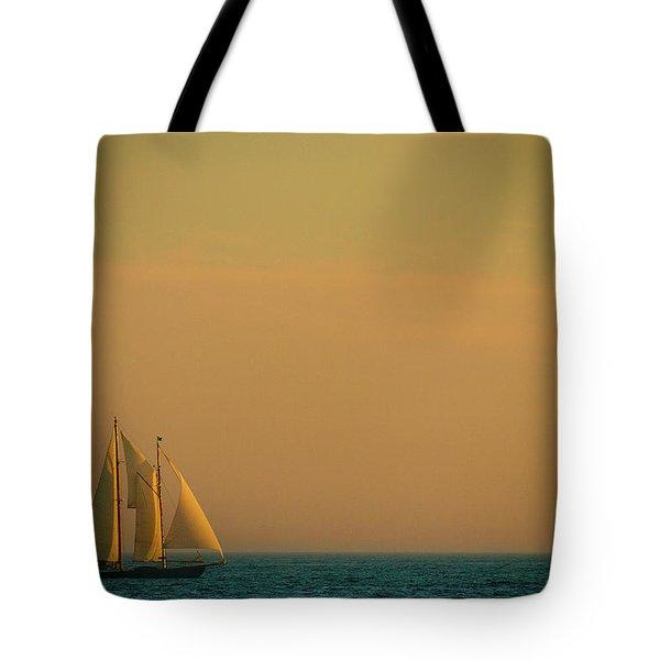 Sails Tote Bag by Sebastian Musial