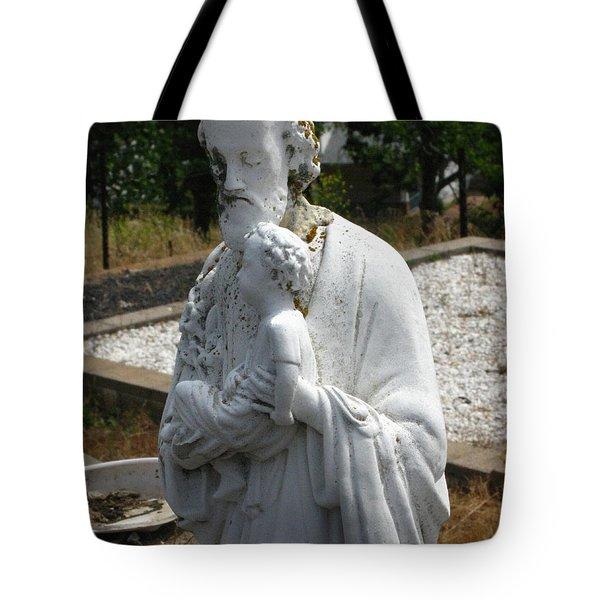 Saint Joseph Tote Bag by Peter Piatt