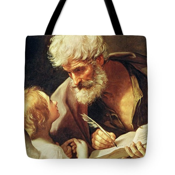 Saint Matthew Tote Bag by Guido Reni