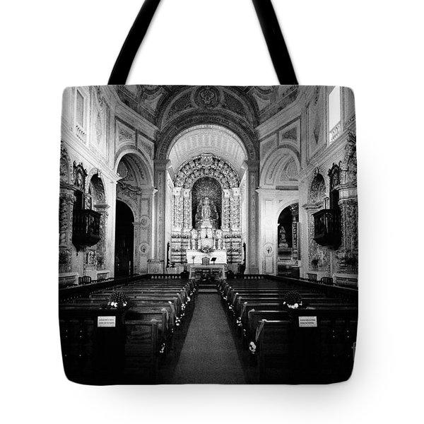 Saint Peter Church Tote Bag by Gaspar Avila