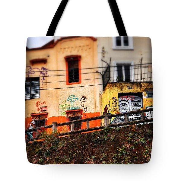 Saks Tote Bag by Skip Hunt