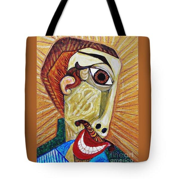 Salesman Of The Year Tote Bag by Sarah Loft