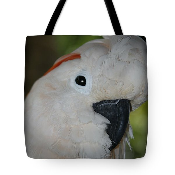 Salmon Crested Cockatoo Tote Bag by Sharon Mau