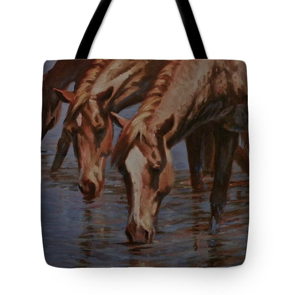 Salt River Redheads Tote Bag by Mia DeLode