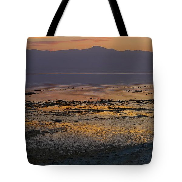 Salton Tote Bag by Skip Hunt