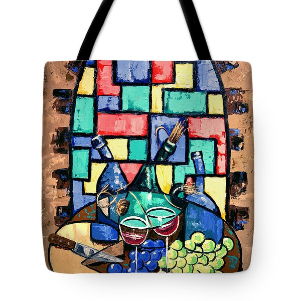 Salute Happy Hour In Tuscany Tote Bag by Anthony Falbo