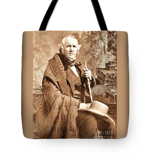 Sam Houston Tote Bag by Pg Reproductions