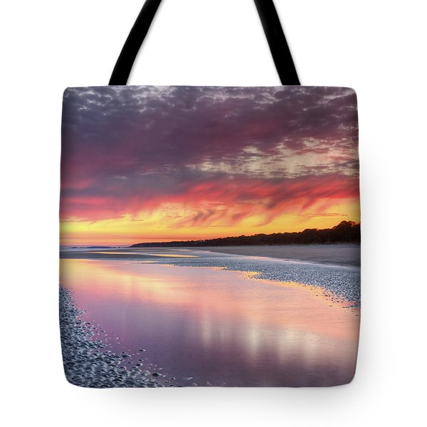Same Night Six Fifteen Tote Bag by Phill Doherty