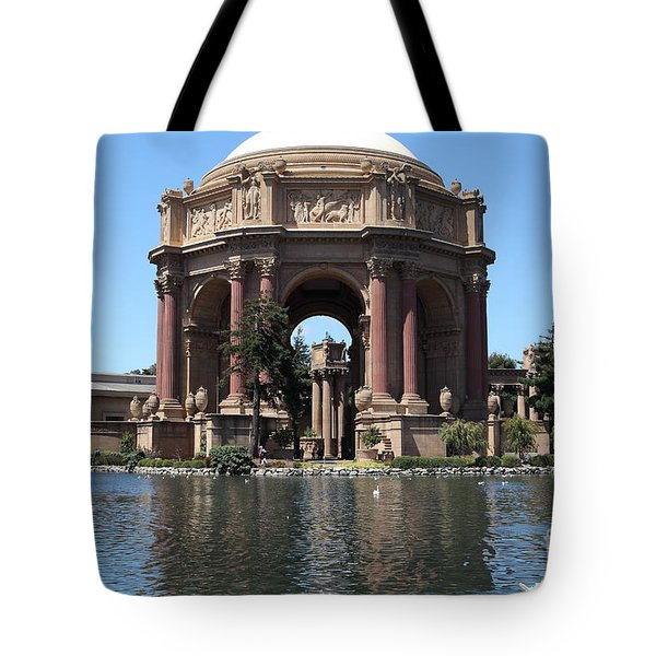 San Francisco Palace Of Fine Arts - 5d18081 Tote Bag by Wingsdomain Art and Photography