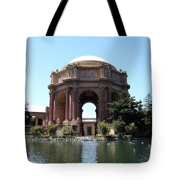 San Francisco Palace of Fine Arts - 5D18107 Tote Bag by Wingsdomain Art and Photography