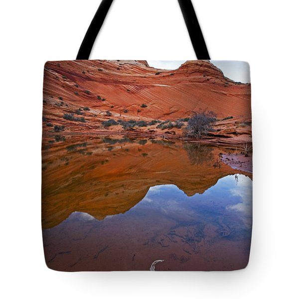 Sandstone Pools Tote Bag by Mike  Dawson