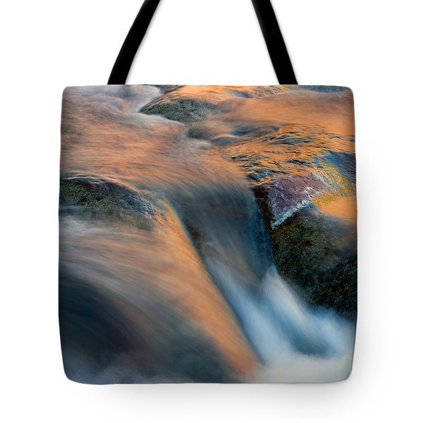Sandstone Reflections Tote Bag by Mike  Dawson