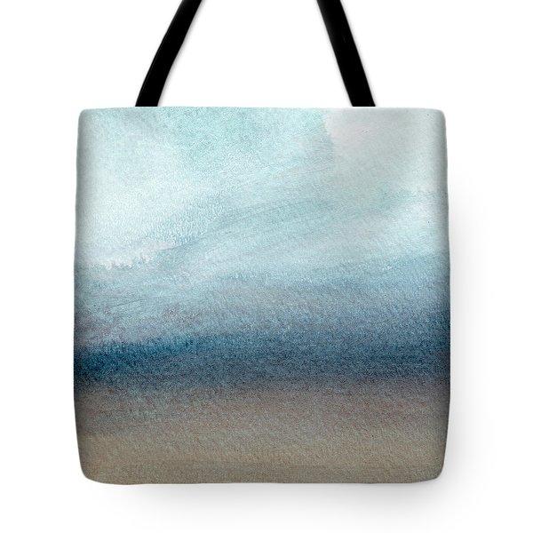 Sandy Shore- Art By Linda Woods Tote Bag by Linda Woods