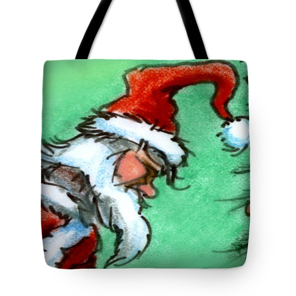 Santa Claus Tote Bag by Kevin Middleton