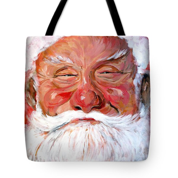 Santa Claus Tote Bag by Tom Roderick