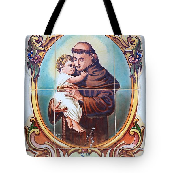 Santo Antonio de Lisboa Tote Bag by Gaspar Avila