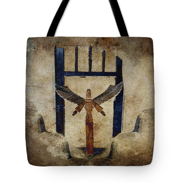 Santo Tote Bag by Carol Leigh