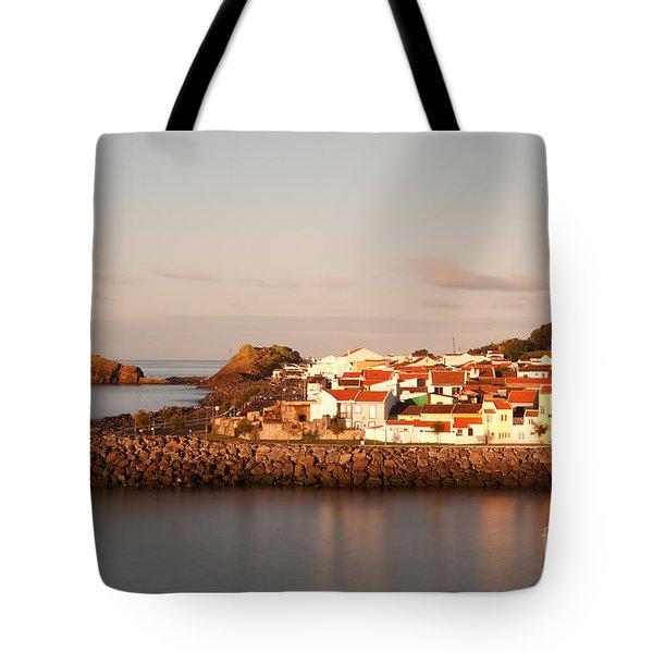 Sao Roque At Sunrise Tote Bag by Gaspar Avila