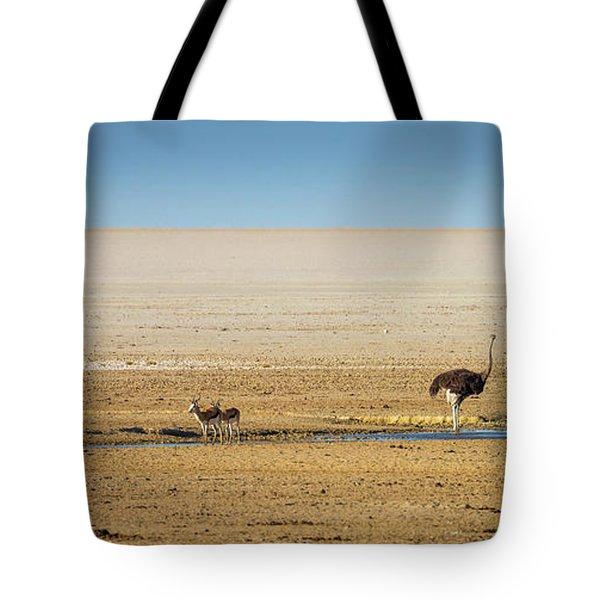 Savanna Life Tote Bag by Inge Johnsson