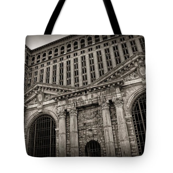 Save The Depot - Michigan Central Station Corktown - Detroit Michigan Tote Bag by Gordon Dean II
