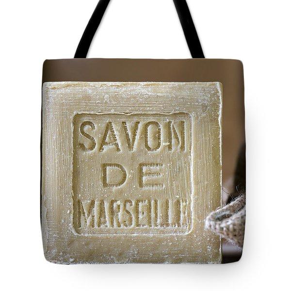 Savon de Marseille Tote Bag by Frank Tschakert
