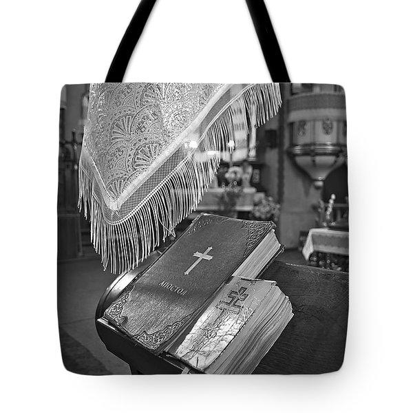 Say A Little Prayer Tote Bag by Evelina Kremsdorf