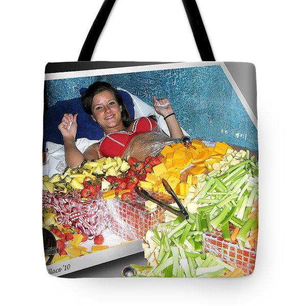 Say Cheese Tote Bag by Brian Wallace