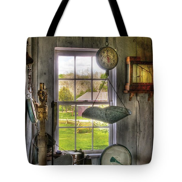 Scales - Scales Tote Bag by Mike Savad