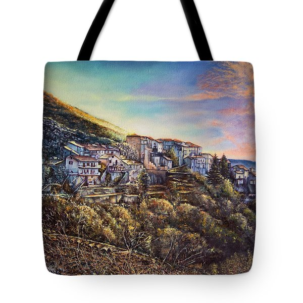 Scattered Clouds Tote Bag by Michel Angelo Rossi