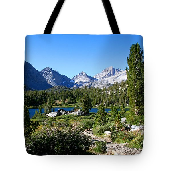 Scenic Mountain View Tote Bag by Chris Brannen