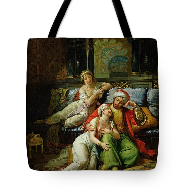 Scheherazade Tote Bag by Paul Emile Detouche