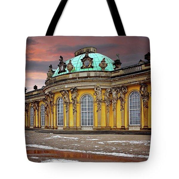 Schloss Sanssouci Potsdam  Tote Bag by Carol Japp