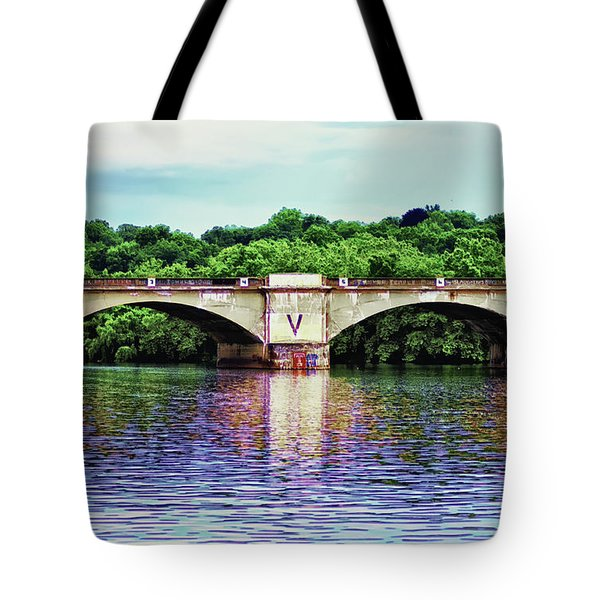 Schuylkill River Tote Bag by Bill Cannon