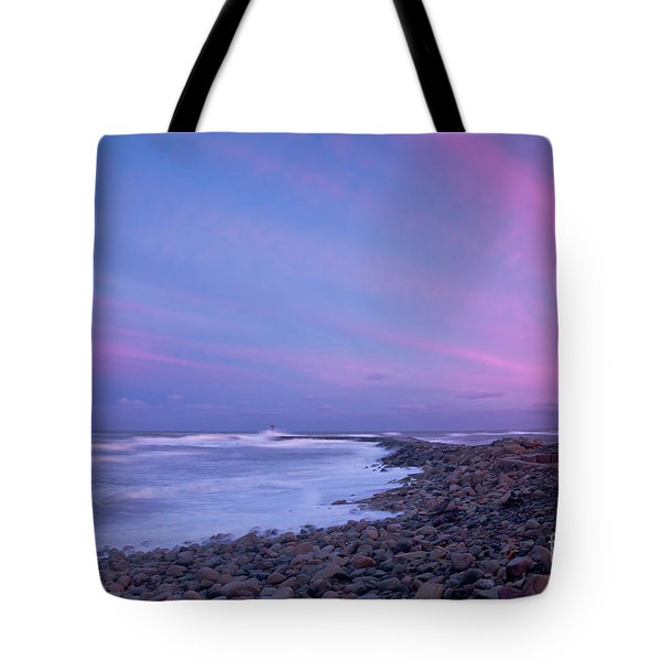 Scituate Sunset  Tote Bag by Susan Cole Kelly