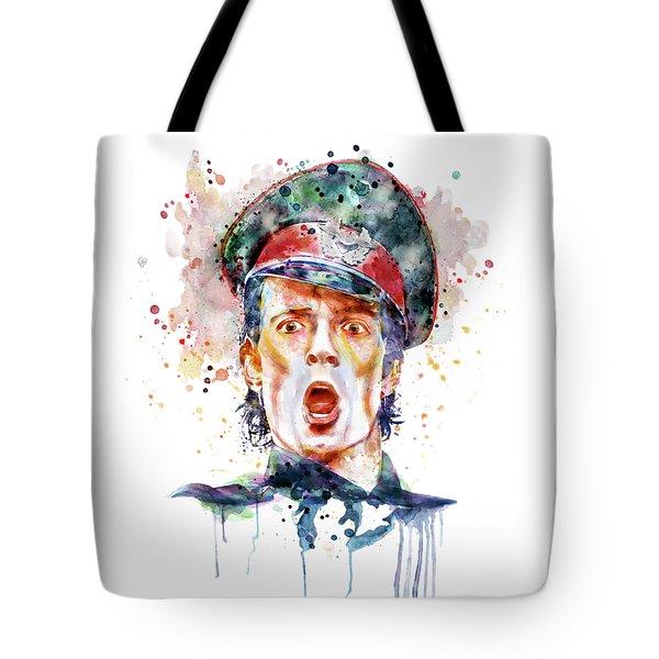 Scott Weiland Tote Bag by Marian Voicu
