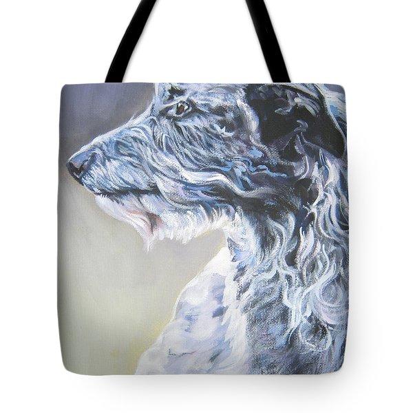 Scottish Deerhound Tote Bag by Lee Ann Shepard